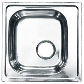 Мойка из нержавеющей стали 465х465 мм.