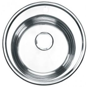 Мойка из нержавеющей стали круглая 500 мм.