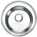 Мойка кухонная из нержавеющей стали круглая 510 мм.
