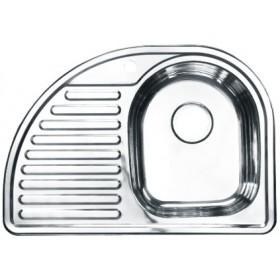 Мойка кухонная из нержавеющей стали 730х510 правая