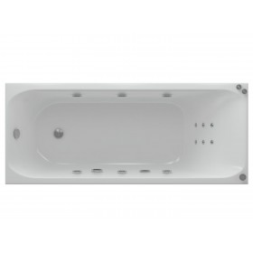 Акриловая ванна Акватек Альфа 150 без гидромассажа