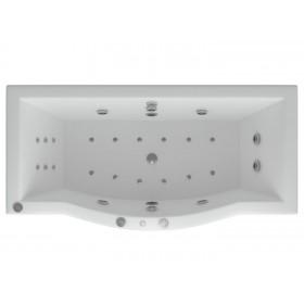 Акриловая ванна Акватек Гелиос 180 без гидромассажа