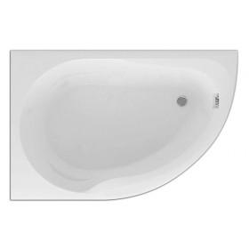 Акриловая ванна Акватек Вирго 150 левая без гидромассажа