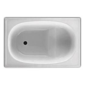 Стальная ванна с сиденьем BLB Europa 1050x700