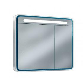Зеркальный шкаф со светильником Edelform Celesta