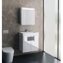 Комплект мебели для ванной Edelform Glass 60