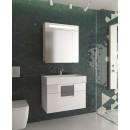 Комплект мебели для ванной Edelform Glass 80