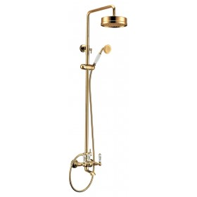 Душевая стойка золото Edelform Lumier LM2910G