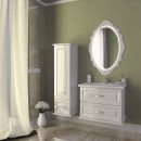 Комплект мебели для ванной Edelform Mero белый