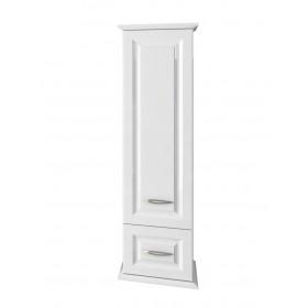 Шкаф пенал для ванной подвесной Edelform Mero белый