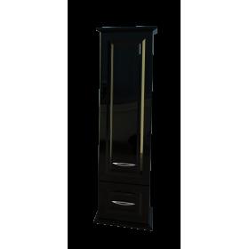 Шкаф пенал для ванной подвесной Edelform Mero черный