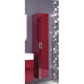 Пенал для ванной подвесной Edelform Point красный