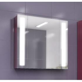 Зеркальный шкаф для ванной Edelform Point 80 красный