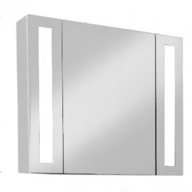 Зеркало-шкаф для ванной Edelform Point 80 белый