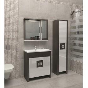 Комплект мебели для ванной Edelform Quadro 75