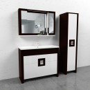 Комплект мебели для ванной Edelform Quadro 90