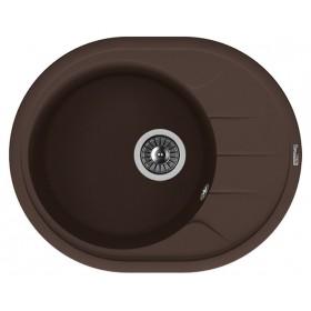 Мойка для кухни Florentina Родос 620 коричневая