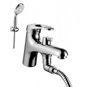 Смеситель на борт ванны с душем Lemark Omega LM3115C