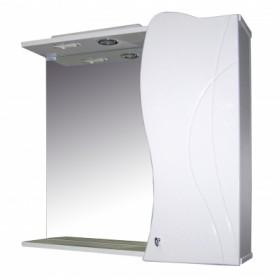 Шкаф навесной для ванной MixLine Вивьен-75