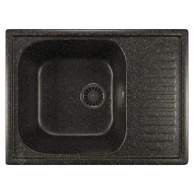 Мойка для кухни из искусственного камня Mixline ML-GM18 черная