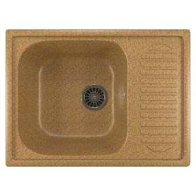 Мойка для кухни из искусственного камня Mixline ML-GM18 песочная