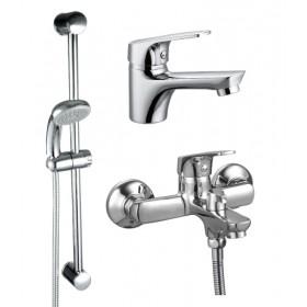 Набор смесителей для ванной и умывальника Rossinka SET 35-83