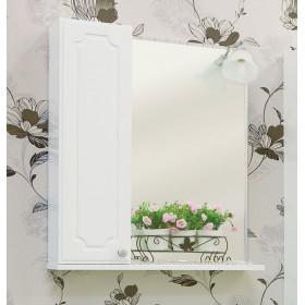 Зеркало шкаф в ванную Sanflor Ксения 60