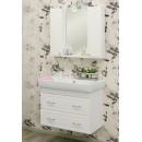 Комплект мебели для ванной подвесной 80 Sanflor Ксения
