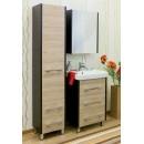 Комплект мебели для ванной 60 Sanflor Ларго вяз/венге