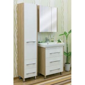Комплект мебели для ванной 70 Sanflor Ларго белый/вяз