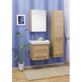 Комплект мебели для ванной подвесной 60 Sanflor Ларго вяз