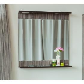Зеркало в ванную 75 Sanflor Толедо зебрано