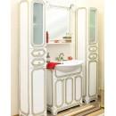 Комплект мебели для ванной Sanflor Каир 75 патина золото