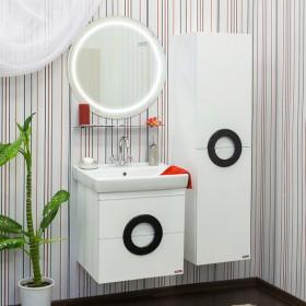 Комплект мебели для ванной Sanflor Рондо 60 белая