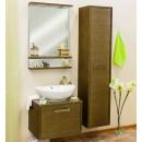 Комплект мебели для ванной Sanflor Румба 60 венге, патина золото