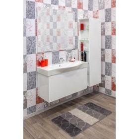 Комплект мебели для ванной Sanflor Санфлор 100 белый