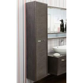 Шкаф пенал для ванной Sanflor Румба венге, патина серебро