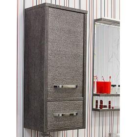 Шкаф навесной Sanflor Румба венге, патина серебро