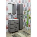 Комплект мебели для ванной Sanflor Торонто 60 серый
