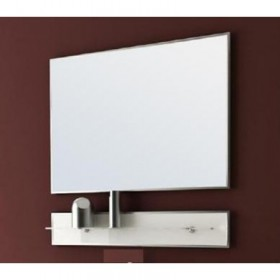 Зеркало с полкой для ванны MixLine Эдельвейс-75